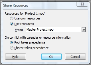 Ask the Experts: How Resource Sharing Works in a Master Project